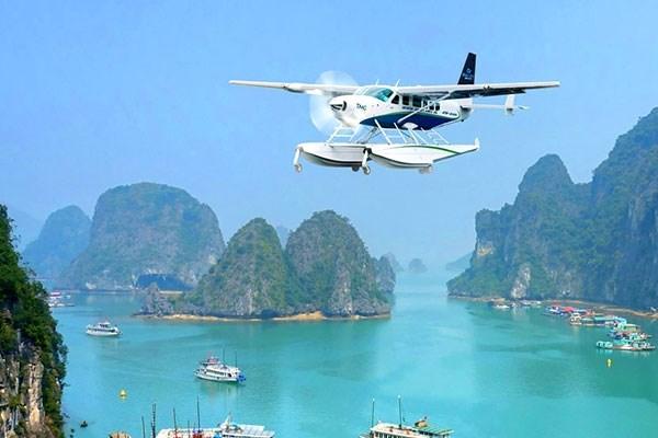 Thủy phi cơ du lịch Hạ Long