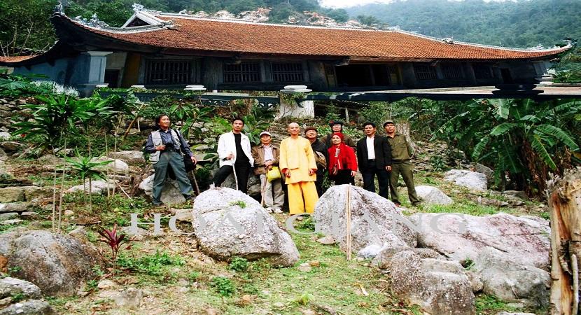 Ngôi chùa cổ Hồ Thiên