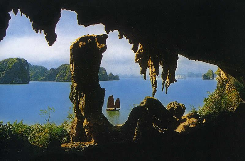 Vẻ đẹp tuyệt vời Hang Trinh Nữ - Hạ Long