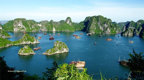 Vẻ đẹp tuyệt diệu Vịnh Hạ Long