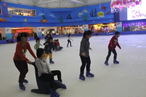 Hãy lựa chon trang phục trượt băng phù hợp