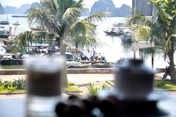 Ngắm nhìn chợ cá từ Hạ Long by night