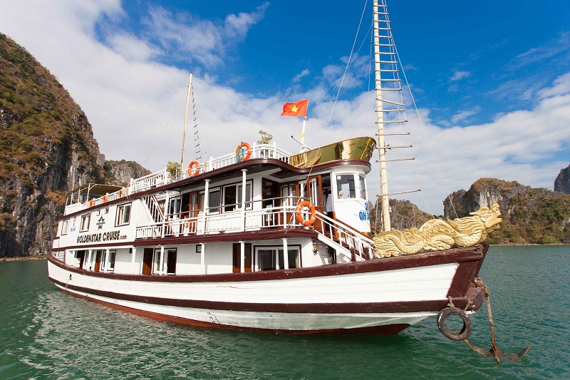 Du thuyền 3 sao - Golden Star Hạ Long