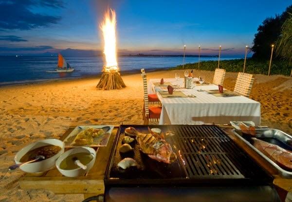 Tiệc BBQ trên bờ biển