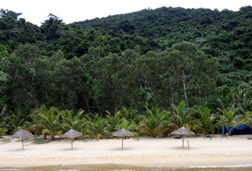 Khu du lịch đảo Cống Tây