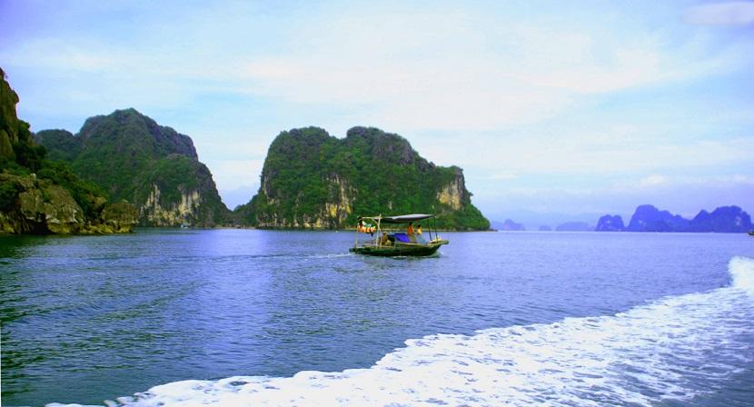 Vẻ đẹp thiên nhiên đảo Cống Tây