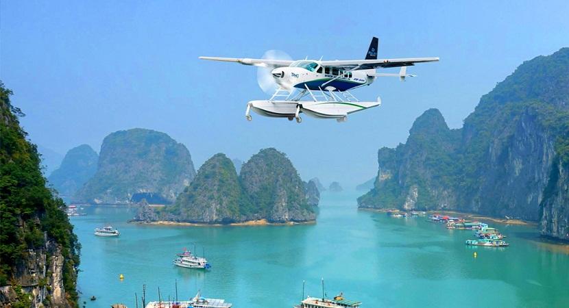 Du lịch Hạ Long trải nghiệm thủy phi cơ