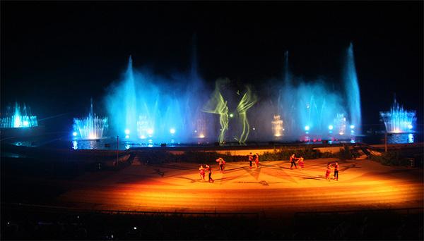 Công trình nhạc nước Tuần Châu