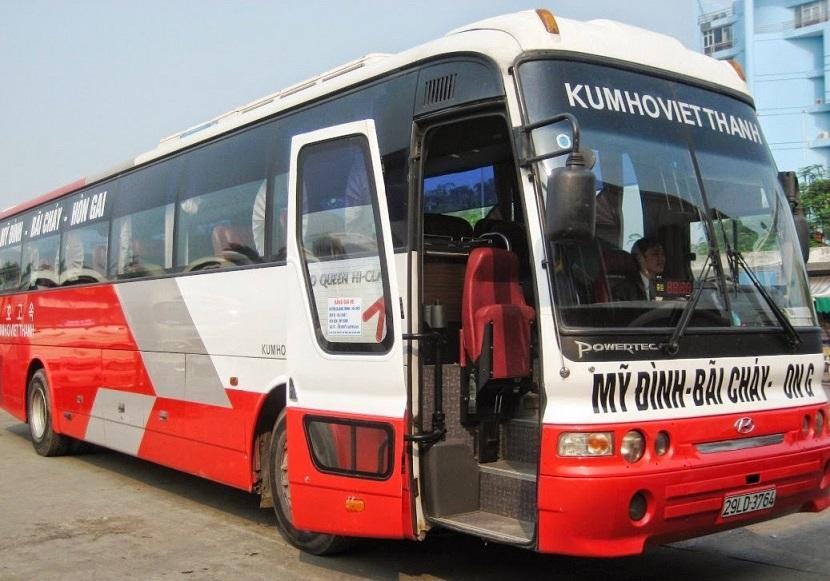 Xe khách đi Hạ Long từ Hà Nội