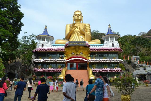 Đền Vàng Dambulla, Sri Lanka