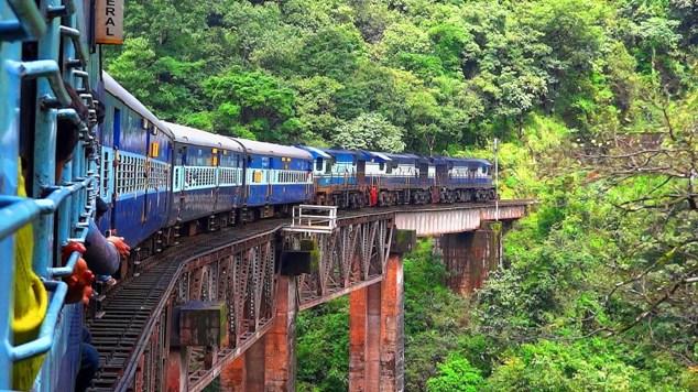Hệ thống đường sắt trên núi, Ấn Độ