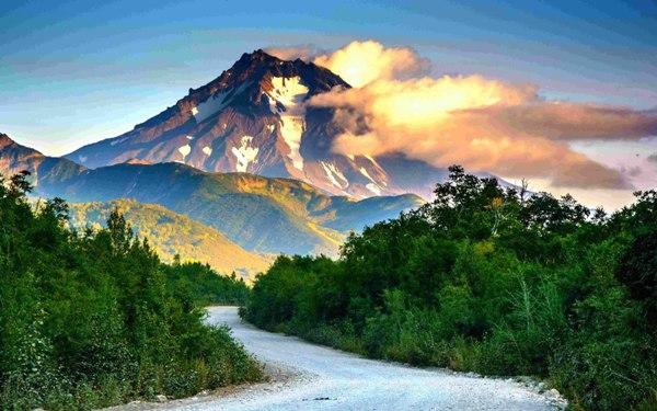 Núi lửa Kamchatka (Nga)