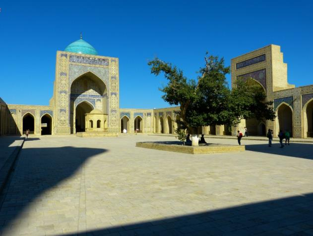 Trung tâm lịch sử Bukhara, Uzbekistan
