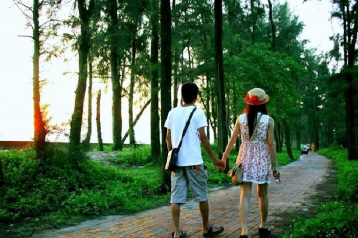 Con đường tình yêu - nơi hẹn hò lãng mạn của những cặp đôi